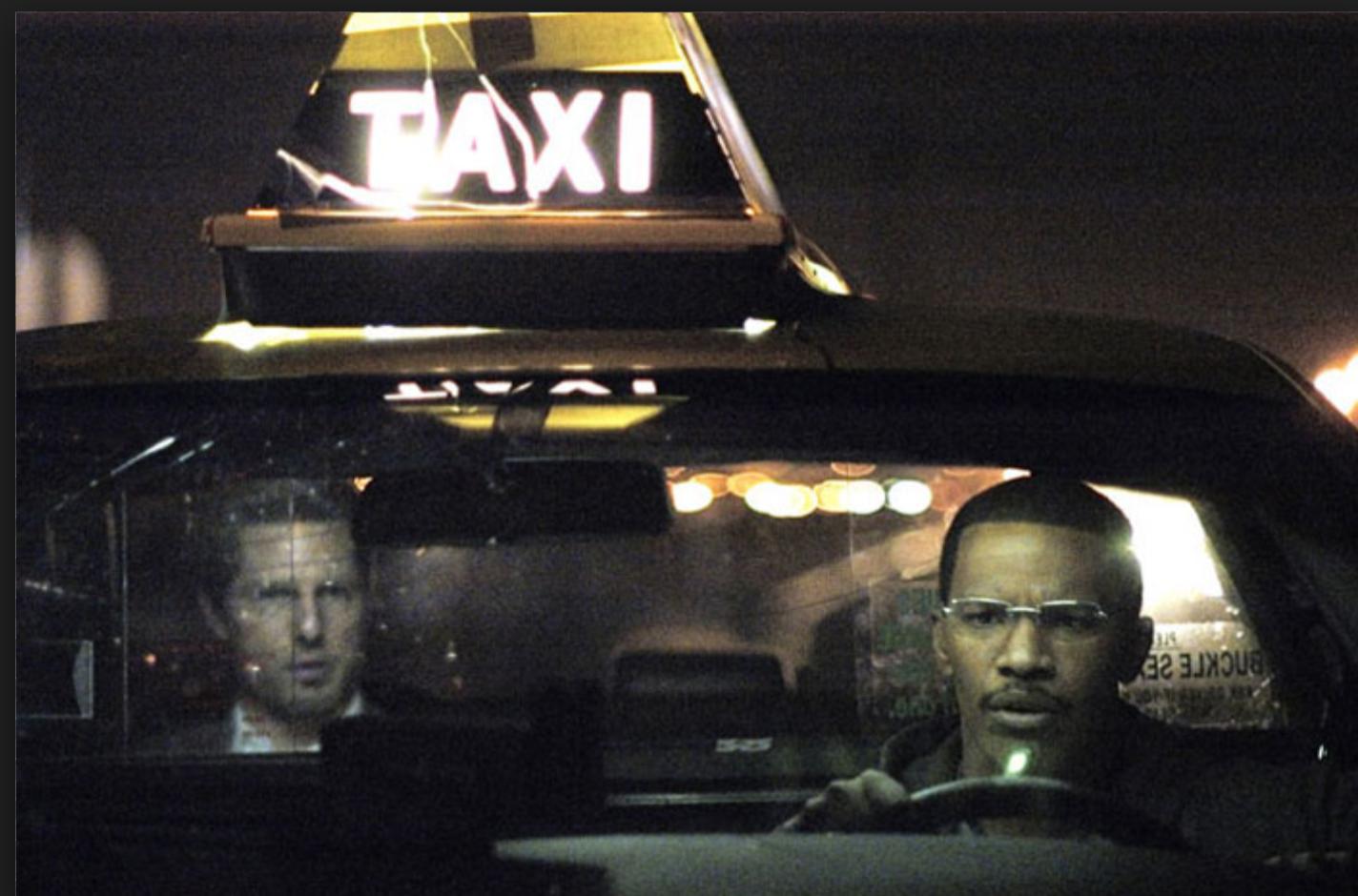 Image du film Collateral, avec Tom Cruise et Jamie Foxx